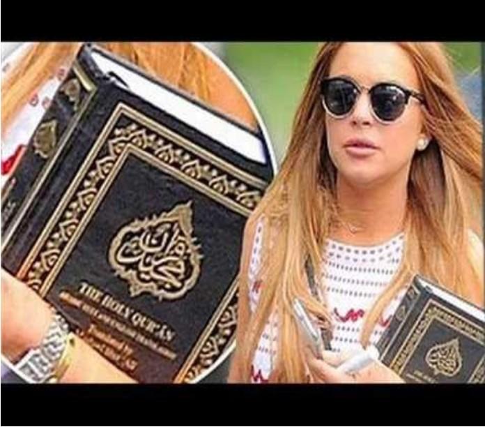 Lindsay Lohan on Islam